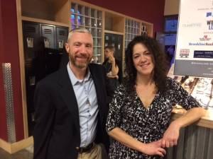Matt Cooney & Jennifer Bray Brookline Teen Center