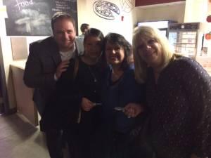 Brad Sullivan, Julie Ton, Barbara Hewitt & Elaine Joseph Bank of Canton
