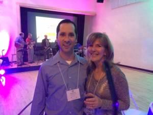 Doug Murstein CPA, Lisa Wisel VineRipe Grill & Chamber President