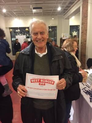 Pop Up Arnie Schaffer Wins Raffle Prize Photo