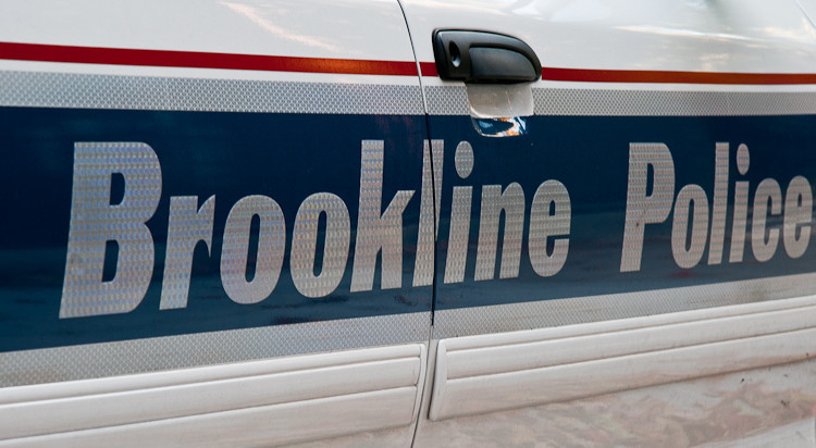 brookline police car