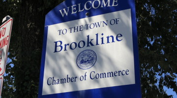 brookline sign