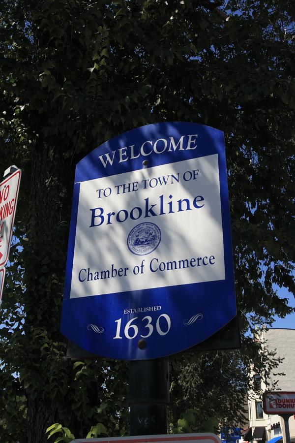 brookline sign