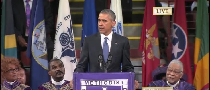 obama eulogy