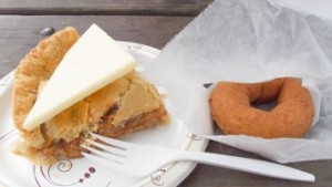 Pie and a Donut