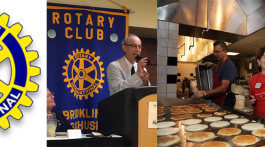 Brookline Rotary Club pancake breakfast