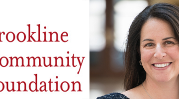 Brookline Community Foundation Julie Marcus header
